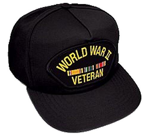 HMC WWII Veteran Ballcap, Black