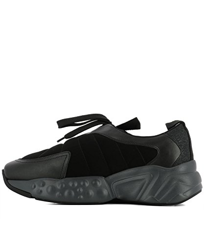 ACNE STUDIOS Herren 2EA174BLACK Schwarz Stoff Sneakers