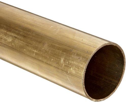 Brass Round Tubing, 1/2