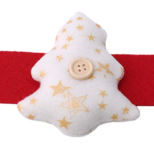 EH-LIFE Star Heart Christmas Tree Towel Rack Fabric Ring Party Table Decor by EH-LIFE (Image #3)
