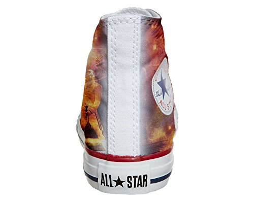 Converse All Star Customized - Zapatos Personalizados (Producto Artesano) Music