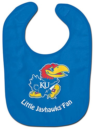 McArthur Kansas Jayhawks NCAA Little Jayhawks Fan NCAA All Pro Baby Bib