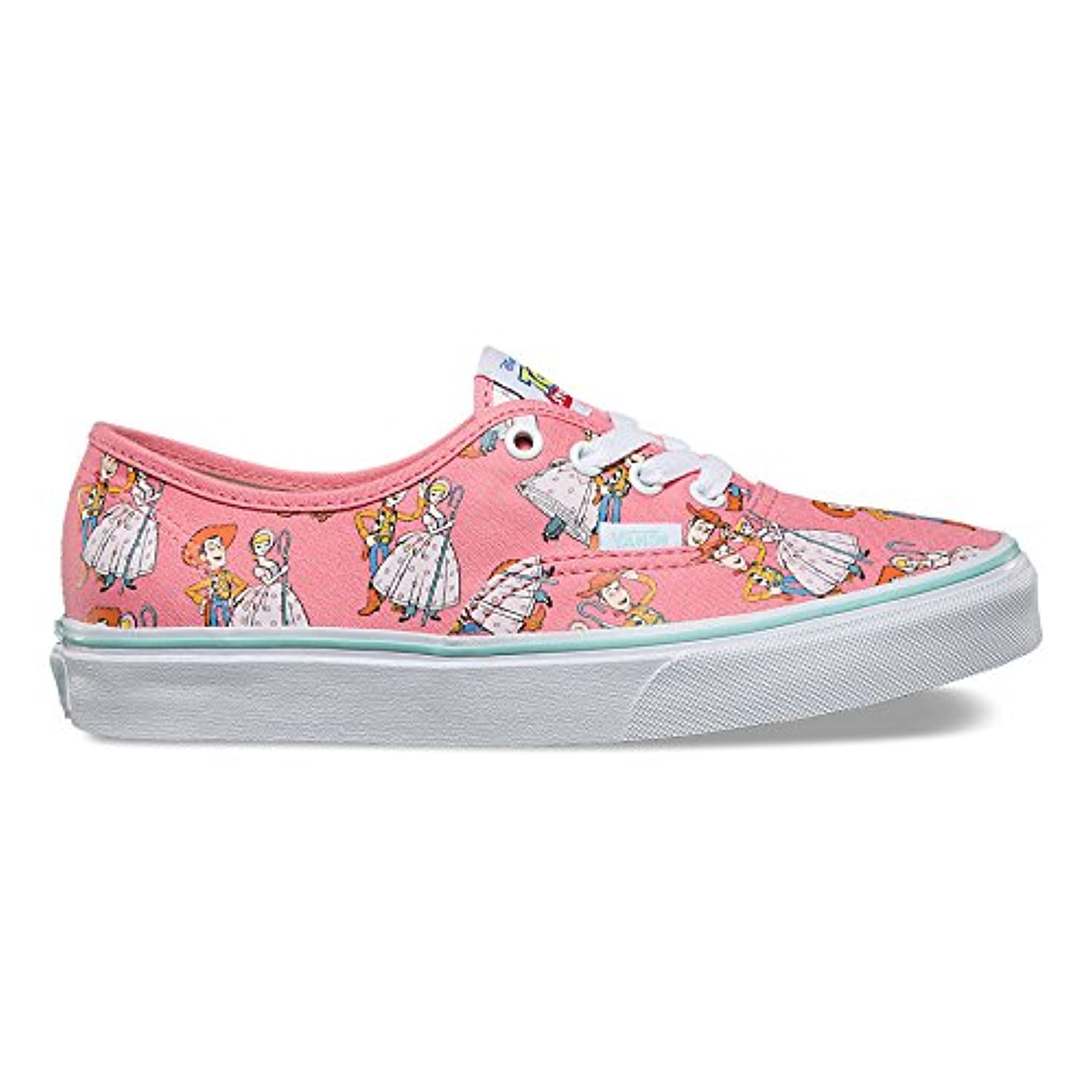 Vans Unisex Kids' Authentic Low-Top Sneakers, Multicolored ((Toy Story)) Woody/Bo Peep)), 1 UK (32 EU)