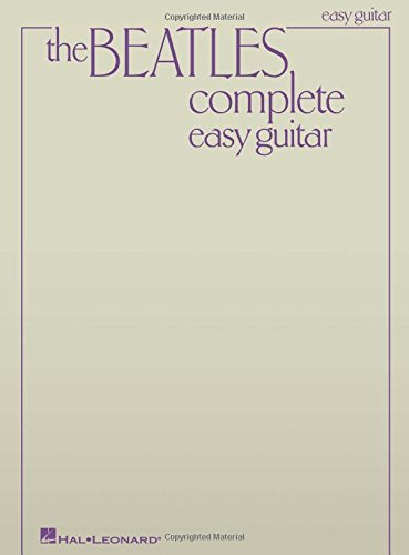 Beatles Complete Easy Guitar - Sheet Bar Chord