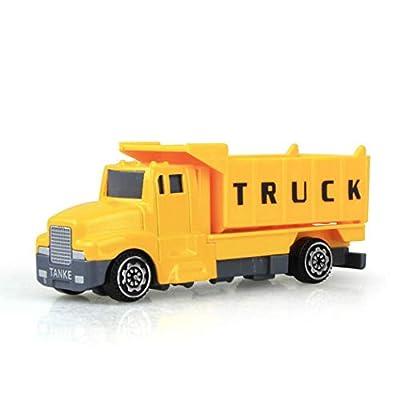 Kaimu 1:60 Construction Inertia Engineering Vehicle Kids Alloy Model Toy Push & Pull Toys: Toys & Games