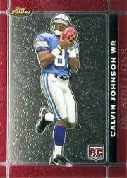2007 Finest #135 Calvin Johnson RC