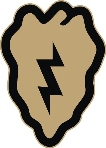 25th infantry division decals - 4
