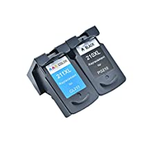 lucky time Canon PG-210XL PG210XL / CL-211XL CL211XL (1* Black & 1* Color) Compatible Remanufactured PG210 CL211 Extra Yield PG-210 CL-211 XL Ink Cartridge For Canon PIXMA ip2702 MP230 MP270 MP495 IP2700 MP240 MP250 MP280 MP480 MP490 MP495 MX320 MX330 MX340 MX350 MX360 MX410 MX420