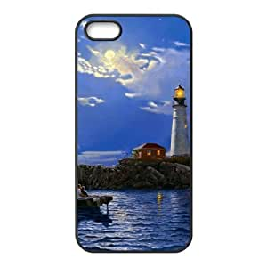 Customized case Of Lighthouse Hard Case for iPhone 5,5S