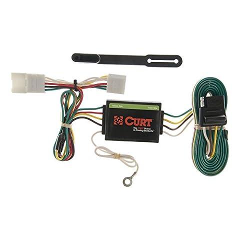 CURT 55354 Custom Wiring Harness - Standard Trailer Wiring
