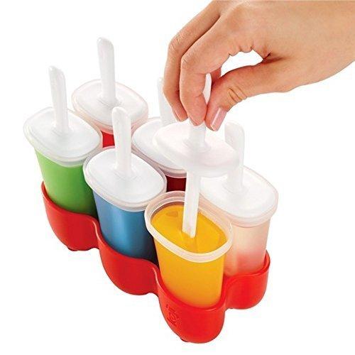 Koji Ice Pop Molds (6 removable molds) by Koji