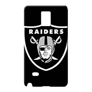 samsung note 4 Shatterproof Fashionable New Fashion Cases mobile phone carrying skins oakland raiders nfl football