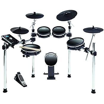 Amazoncom Yamaha Dtx400k Compact Electronic Drum Set