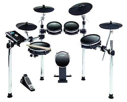 Alesis DM10 MKII Studio Kit | Nine-Piece Electronic Drum Kit with Mesh Heads