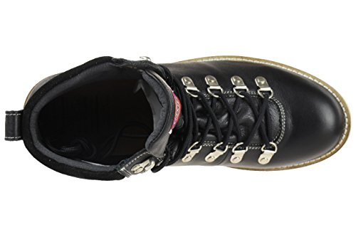 Dickies supernova chaussures bottines mode homme cuir noir DICKIES