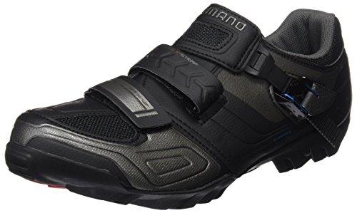 Mountain Bike Cycling Shoes (Shimano SH-M089 Cycling Shoe - Men's Black, 44.0)
