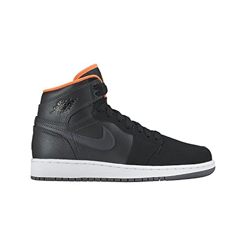 Basketball Boys' Nike blk Retro 1 Air Hypr Bg Gry High Orng Shoes Black Grey Jordan Hmtt Orange Mtlc cl 0qAqSdw