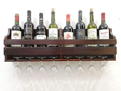 8 bottle wall mounted wine rack - 7