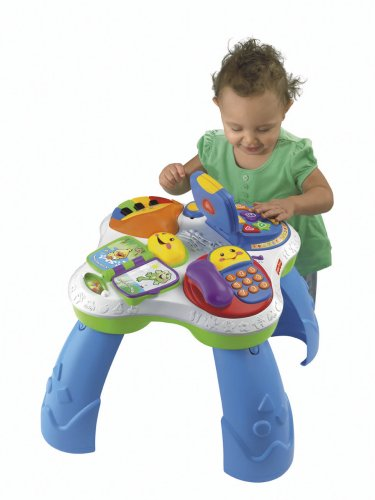 Fisher-Price Laugh & Learn Fun with Friends Musical Table Activity Center - Buy Online in UAE ...