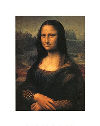 - Mona Lisa Art Print by Leonardo da Vinci 16 x 20in