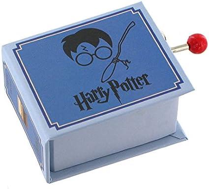 Caja de música / caja musical de manivela de cartón en forma de libro - Harry Potters wondrous world - Harry Potter y la piedra filosofal (John Williams): Amazon.es: Bebé