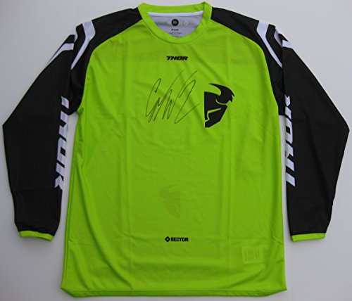 Cooper Signed Photo - Cooper Webb, Supercross, Motocross, Freestyle Motocross, Signed, Autographed, Thor Jersey, a COA with the Proof Photo of Cooper Signing Will Be Included.