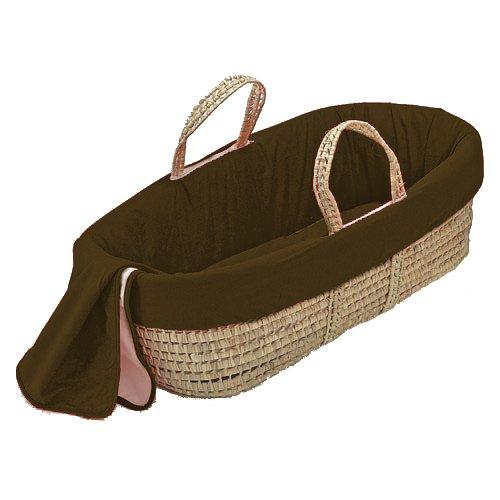 bkb Solid Color Moses Basket, White 009243370277