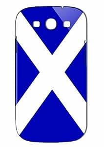 Case Fun Samsung Galaxy S3 (I9300) Case - Vogue Version - 3D Full Wrap - Scotland Flag
