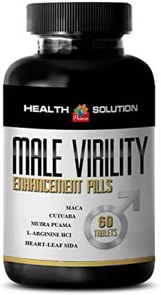 L-arginine l-citrulline complex - MALE VIRILITY 1300MG - increasing libido (1 Bottle)