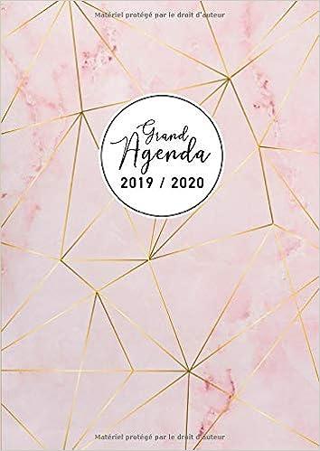 Grand Agenda 2019 2020: Agenda 17 mois 2019-20 - Agenda ...
