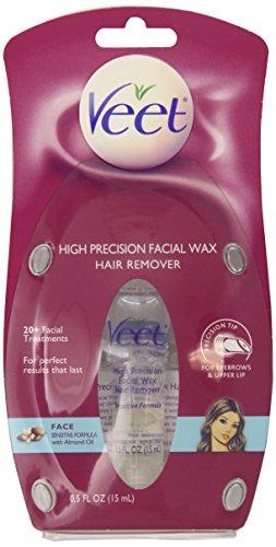 Veet High Precision Facial Wax Hair Remover, 0.50 Ounce