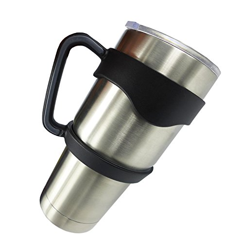 Anti-Slip Cup Handle for 30 oz YETI ,RTIC ,Tumbler Ramblers By EHME Brand (Cups not Included)