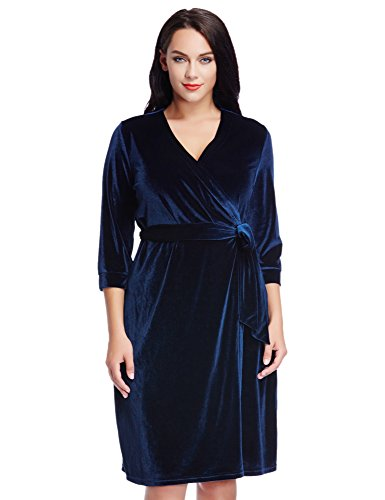 LookbookStore Womens Sleeve Velvet Party