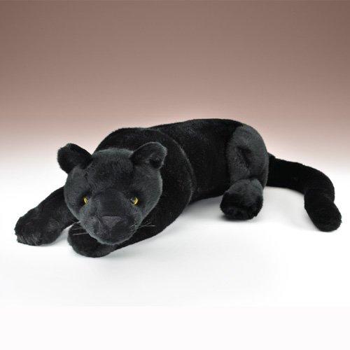 Black Panther Plush Toy Lying 21