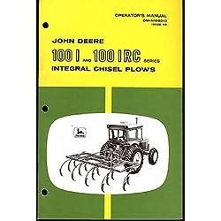 JOHN DEERE 100 I & IRC INTEGRAL CHISEL PLOWS O