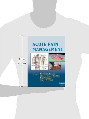 Acute Pain Management (Cambridge Medicine (Hardcover)) by Brand: Cambridge University Press