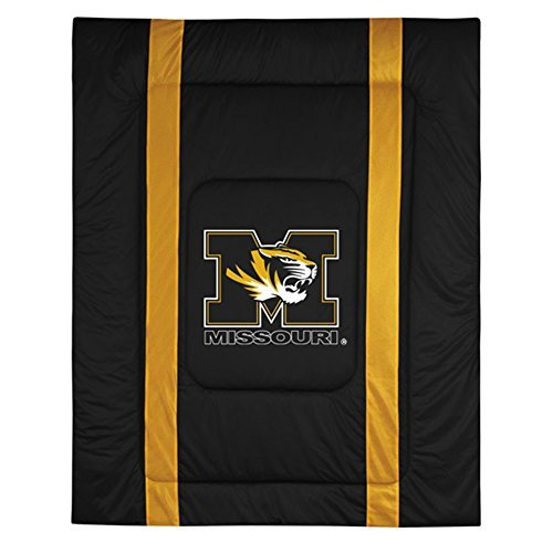 NCAA Missouri Tigers Sideline Comforter Queen
