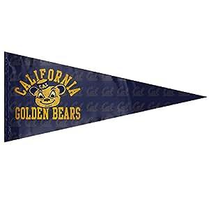 """NCAA Cal osos California Golden Bears Logo 12""""X 30"""" banderín bandera de Jardín"""