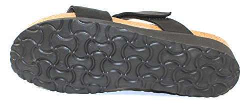 Rivets Nubuck Naot Women's Ainsley Sandals Velvet Black Slide Silver zwfwR8