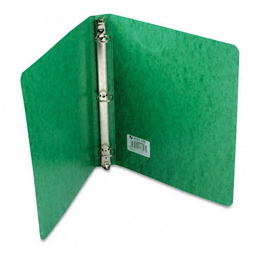 Acco Recycled Presstex Round Ring Binder, 1in Capacity, Dark Green - (Pack of 20)