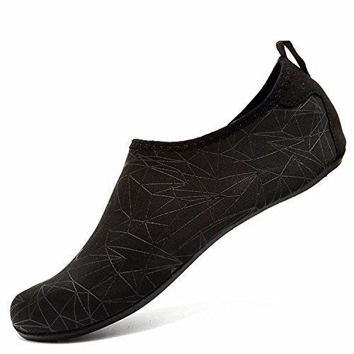 LK de de Natación de de Playa Soles Agua Zapatos Secado Rápido Unisex Piscina Agua LEKUNI Xzx Zapatos Respirable Calzado Color schwarz de tqHtBra