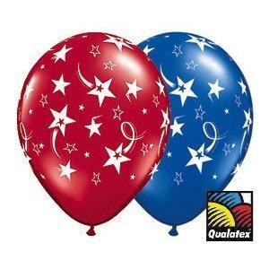 Patriotic American Celebration Balloon Bouquet 7 Balloons 1 20