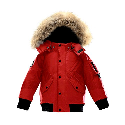Triple F.A.T. Goose Kids Scotia Premium Down Jacket (Red) by Triple F.A.T. Goose