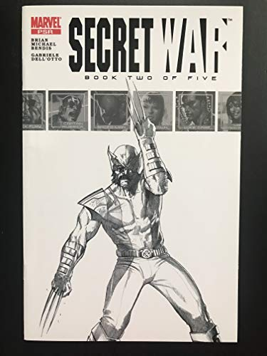 Secret War #2 2004 Sketch Variant Marvel Comic Book NM Condition 1st appearance of Daisy Johnson Quake Marvel Rising Cartoon Character (Daisy Johnson Marvel)