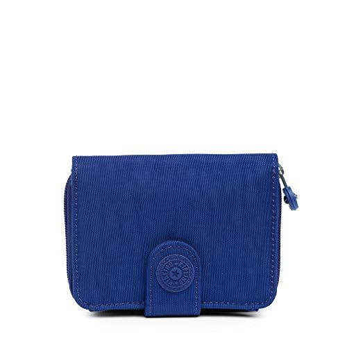 Kipling Women's New Money Snap Wallet, Cobalt Dream Tonal - Kipling New Travel Wallet