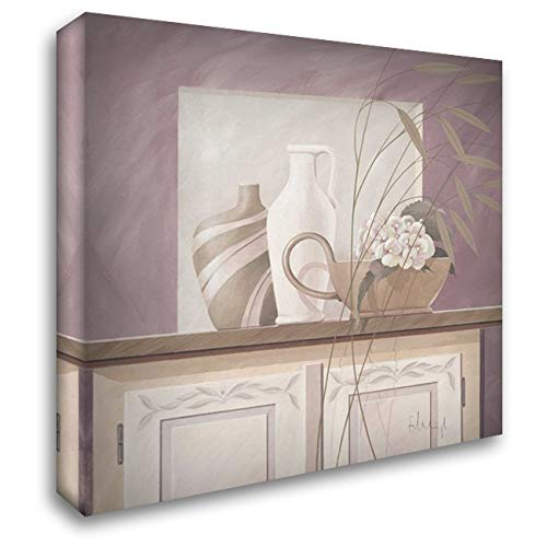 Pastel Colours I 28x28 Gallery Wrapped Stretched Canvas Art by Heigl, Franz - Franz Heigl Pastel Colours