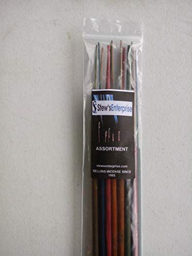 Stews Enterprise Assorted 19 Inch Jumbo Incense Sticks - 15 Sticks