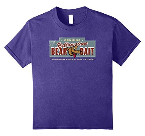 Kids Genuine Yellowstone Bear Bait funny cartoon bear shi...