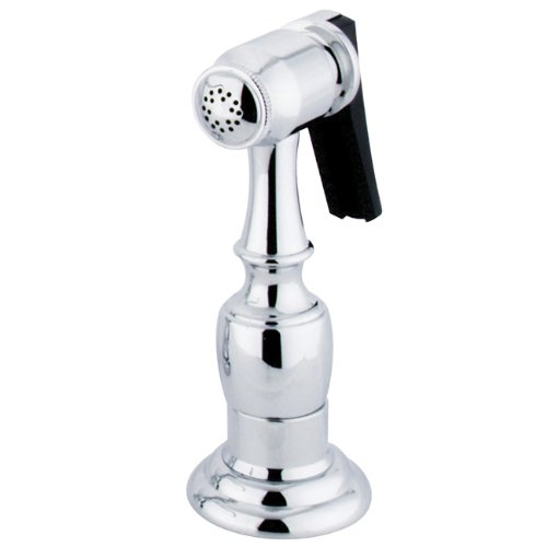 Kingston Brass Gourmetier KBSPR1 Kitchen Faucet Sprayer with Hose, Polished Chrome