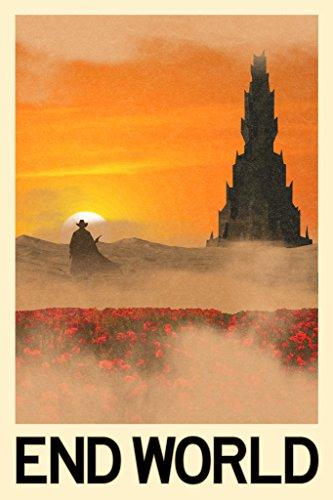 End World Fantasy Travel Poster